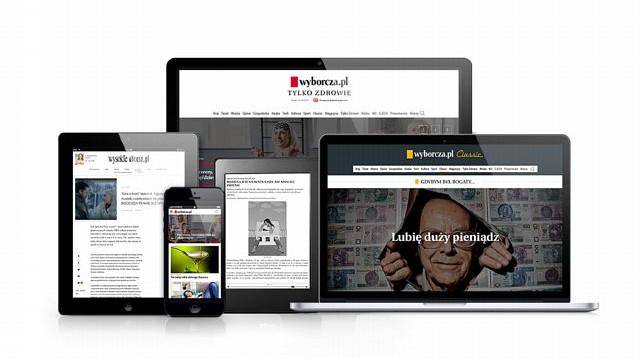 Prenumerata cyfrowa Gazety Wyborczej w ofercie home.pl na smartfonie, tablecie oraz komputerze