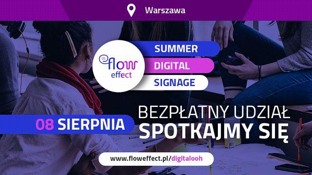 tytulSummer Digital Signage: Konferencja pod patronatem Signs.pl