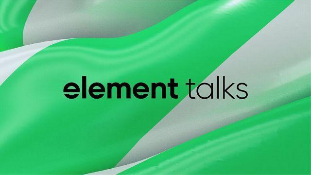 tytul5. edycja Element Talks tego lata w Warszawie