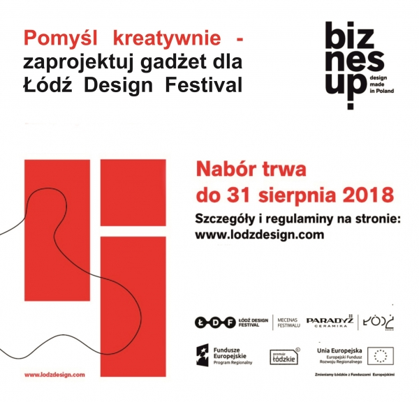 tytulKonkurs na gadżet dla Łódź Design Festival