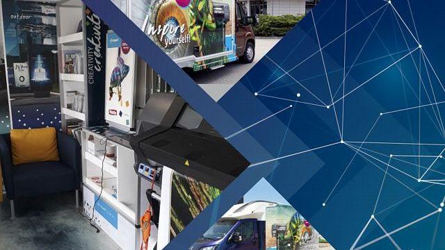 tytulMobilne Centrum Inspiracji: Nowe miejsce spotkań z technologią HP Latex