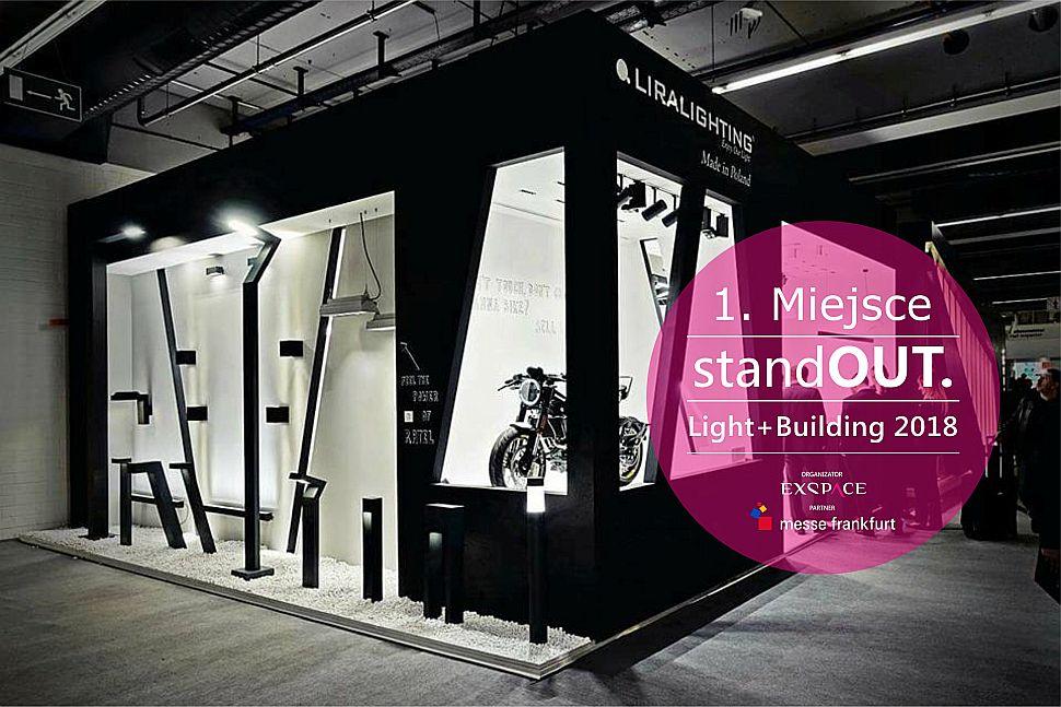 tytulLaureaci 57. edycji Standout. Light+Building 2018