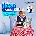Kontrastowa kampania Multisport z Robertem Makłowiczem