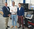 Maszyna Mark Andy Performance Series P7E w belgijskiej drukarni Flexprinter