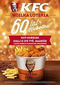 KFC świętuje 60-lecie kubełka loterią