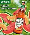 Soczysty arbuz z melonem – nowy radler marki Okocim