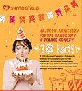 Portal randkowy Sympatia.pl kończy 18 lat