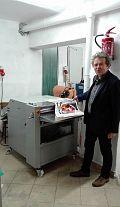 Poligrafia Szuta instaluje urządzenie do lakierowania firmy Grafmasz