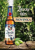 Žatecký Světlý Ležák 0,0% – nowe piwo bez procentów