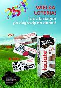 """""""Leć z Łaciatym po nagrody do domu"""" – loteria konsumencka mleka Łaciate"""