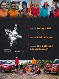 Ponad 800 tys. użytkowników śledziło wyjazdy Ekipy ekstremalnej w Sport.pl