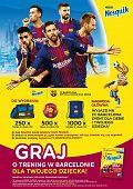FC Barcelona w kampanii marki Nesquik