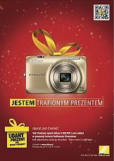 Świąteczna kampania aparatów Nikon Coolpix
