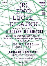 Poznań: Cradle to Cradle Design - spotkanie z cyklu (R)ewolucje dizajnu