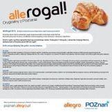 Rogale promują Poznań na Allegro
