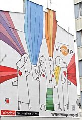 WrOpenUp: Wrocławskie murale malowane farbami Baumit