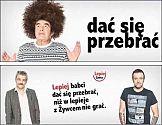 Raczkowski i Brodka w reklamie piwa
