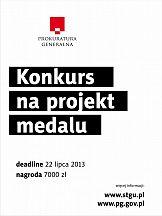 Konkurs na medal dla Prokuratury Generalnej