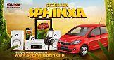 Sphinx z wielką loterią i kampanią marketingową