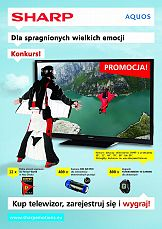 Sharp promuje wielkie telewizory