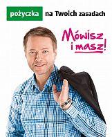 Artur Żmijewski promuje pożyczkę gotówkową