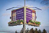 Billboard 3D w kampanii Bouygues Immobilier Polska