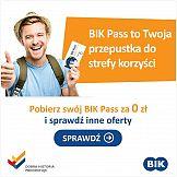 Codemedia wypromuje BIK Pass