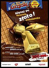 Sięgaj po szczere złoto w kampanii wafelków Grześki