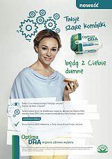 Sonia Bohosiewicz w launchowej kampanii Optimy DHA