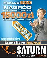 Urodzinowa loteria w Saturnie wsparta kampanią reklamową
