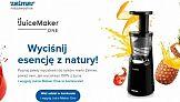 Zelmer - nowa kampania promocyjna wyciskarek do soków Juice Maker One