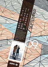 Kalendarz VIP firmy Agfa Graphics na rok 2015