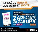 Przedświąteczna kampania reklamowa sieci Saturn i Frisco.pl
