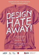 Konkurs Design hateaway! Koszulki przeciwko mowie nienawiści