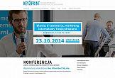 """Konferencja Key2print """"Biznes: e-commerce i marketing internetowy Twojej drukarni"""" ze udziałem Rafała Brzoski"""