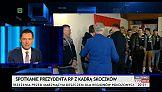 """""""Breaking"""" news w TVP Info: Prezydent pozuje do zdjęć"""