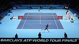 Logo linii Emirates na turniejach tenisowych ATP