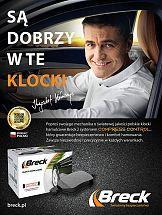Krzysztof Hołowczyc w kampanii klocków hamulcowych Breck