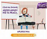 Jesteś lepszy niż ta praca: etap kampanii Codemedia dla Monster Polska