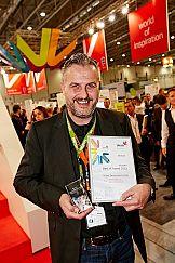 Viscom Best 2015 dla firmy Mutoh za certyfikat ekologiczny
