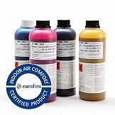 Certyfikat Eurofins Indoor Air Comfort dla atramentów Mutoh UMS