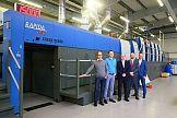 Wielkoformatowa KBA Rapida 145-5+L ALV3 w drukarni Granpak