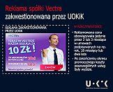 UOKiK: Kampania reklamowa Vectry wprowadzała w błąd