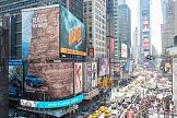 """""""Żywy billboard"""" Toyoty na Times Square"""