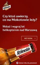 Point of View i piwo Królewskie z mapą nieoficjalnej Warszawy