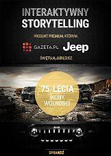 Ikona wolności: interaktywny storytelling Gazeta.pl dla marki Jeep