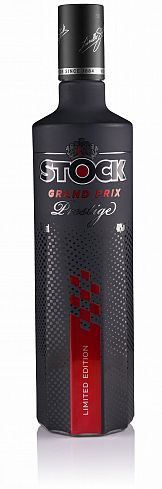 Etykieta Stock Prestige Grand Prix wyróżniona na AWA Sleeve Label Awards 2020