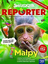 """""""Świerszczyk Reporter"""" - magazyn popularnonaukowy dla dzieci"""