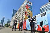 Mural i 2,5 tysiąca wystaw plakatowych na rocznicę Bitwy Warszawskiej