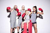 Zawodnicy MMA walczą ze złośliwością w kampanii Cityfit